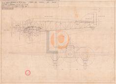 Aeroplano S.I.A.I. Marchetti S.79-Cod. DW-S79-110x75 PIANO DI REGOLAGGIO