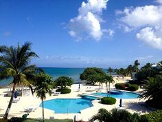 Grandview condo view on 7 mile beach in the Grand Cayman