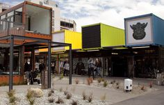 "A shipping container mall, ""Re:START Mall"" by The Buchan Group Architects, brings life back to quake-ravaged Christchurch."