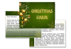 Christmas Carol powerpoint Template