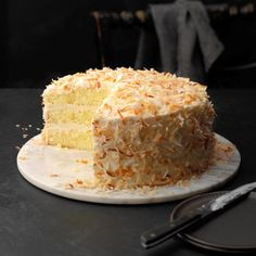 Coconut Chiffon Cake - Hi, readers! Now I'll share the most unbelievable Cake Ideas that i really love it ~~ Just Click This Pin To Read Specific Clue ~~ Hope you love it x?D Cake Chiffon Cake, Ruffle Cake, Food Cakes, Cupcake Cakes, Just Desserts, Dessert Recipes, Layer Cake Recipes, Bolos Naked Cake, Cake Mix Cookies