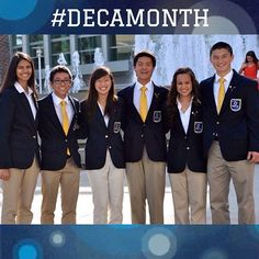 """@avhsdeca: Big shout out to California's lovely state officers! @californiadeca @DECA Inc. #DECAMonth Day 11 """"Favorite DECA Leader"""""""