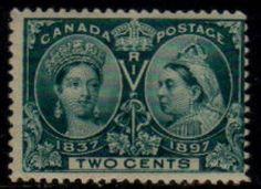 CANADA   Scott # 52* F MINT LH http://www.delcampe.com/page/item/id,0011830299,language,E.html