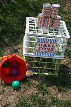 quick & easy outdoor party game