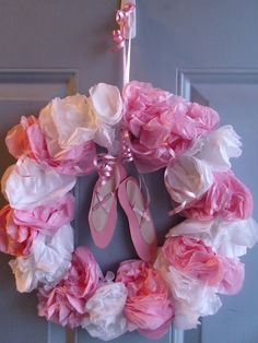 DIY ballet party wreath Repinned by Pinterest Pin Queen ♚