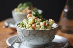 Vegan Russian Salad - Making this super healthy side dish is a cinch!