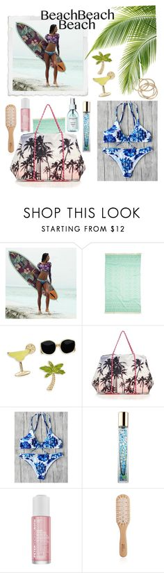 """""""Beach Day"""" by linmari ❤ liked on Polyvore featuring Billabong, Turkish-T, Design Lab, Samudra, AERIN, Peter Thomas Roth, Philip Kingsley and ABS by Allen Schwartz"""