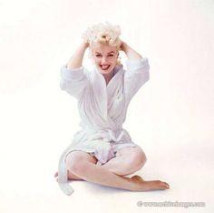 Marilyn Monroe photo by Milton Greene