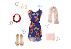 """""""3 outfits for the stylish wedding guest"""""""