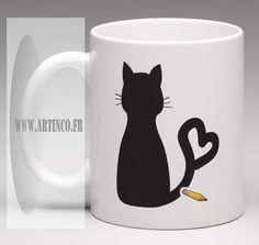 LOVE CAT http://artinco.fr Adorable!