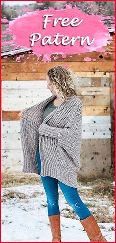 Crochet Cardigan Free Pattern, Crochet, Free Patterns, Cardigan, DIY, Crafts, Crochet Tips, Crochet Hook , Woman's Crochet, Crochet Tutorial. #crochet #crochetfreepatterns #freepatterns #cardigan