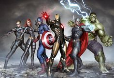 The Avengers by Adi Granov
