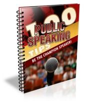 100 Public Speaking Tips Including Master Resell Rights