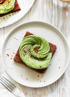 fresh cravings| There's nothing quite like avo on toast with a...