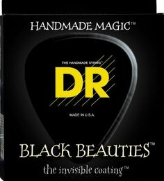 DR Handmade Strings BKB6-30 DR Strings BKB6-30 Black Beauty 6-String Bass Strings 30-125 by DR Strings. $40.58. DR Handmade Strings BKB6-30 Dr Bk Bty 6-Str 30-125. Save 56% Off!