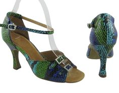 Magic And Mystery (Fully Leather, Fully Adjustable) Salsa Shoes $147  #Women #Shoes #Latin #Salsa #Dance  http://store.dancingworkshops.com/ProductDetails.asp?ProductCode=MAM