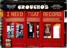 Groucho's. I need that record.