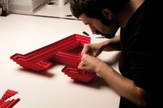 A from Abitare by Lo Siento , via Behance