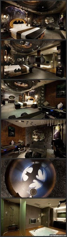 For some reason I picture Christian Grey's bathroom looking like this one...?