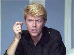 David Bowie : interview au Festival de Cannes 1983