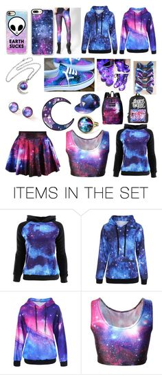 """Galaxy..."" by bockadoodledo ❤ liked on Polyvore featuring art"
