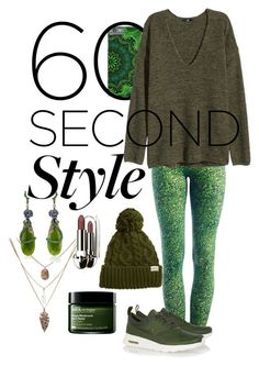 """Go back to the Forest !"" by sanglierspore on Polyvore featuring mode, Rella, Due., H&M, NIKE, Wendy Yue, Origins, Guerlain, nature et yogapants"