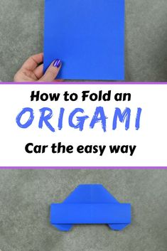 Origami Car, Origami Yoda, Origami Star Box, Origami Dragon, Origami Fish, Money Origami, Easy Origami, Origami Models, Origami Hearts