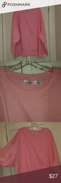 BNWT SILHOUETTES PINK 6X SWEATSHIRT This longsleeved pink sweatshirt from SILHOUETTES is perfect for cuddling up by the fire this time of year :-) SILHOUETTES Tops Sweatshirts & Hoodies