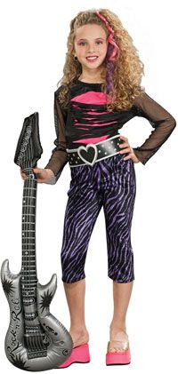 Girl rockstar on pinterest girl costumes rock star costumes and