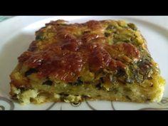 Ispanaklı Patatesli Pratik  Börek Tarifi ( sadece karıştırarak yoğurmadan) - YouTube