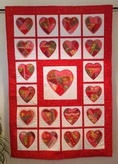 Crazy Quilt Hearts - Supersale
