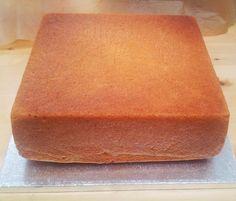 Lemon madeira cake (10 inch square)