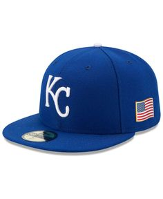 5b6f719c3 New Era Kansas City Royals AC 9-11 Patch 59FIFTY Cap   Reviews - Sports Fan  Shop By Lids - Men - Macy s