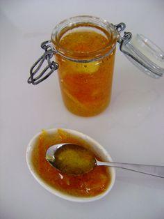 confiture d'orange à la vanille
