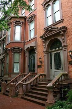Washington DC Brownstones