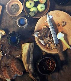 http://vikingfoodguy.com/wordpress/  The Viking Food Guy: Recreating the food and drink of the Viking Age (and others)