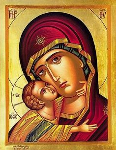 """""""Născătoare de Dumnezeu, ceea ce eşti ocrotitoarea tuturor celor ce se roagă ţie, la tine îndrăznim, cu tine ne lăudăm, întru tine este toată nădejdea noastră. Roagă'te Celui ce S'a născut din tine, pentru nevrednicii robii tăi"""" (Din slujba de Marţi din întâia săptămână a Postului Mare)."""