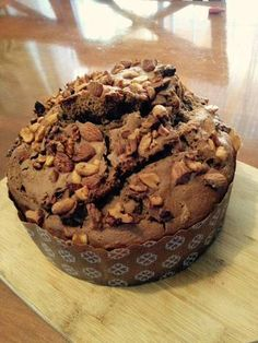 Pan de Pascua delicioso Chocolate Chip Banana Bread, Best Chocolate, Sweet Bread, No Bake Cake, Fall Recipes, Cupcake Cakes, Bakery, Food And Drink, Tasty