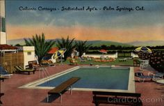 Vintage palm springs google search vintage california for Plush pad palm springs