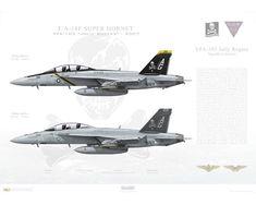 Super Hornet Jolly Rogers, / 166620 and / USS Dwight D Eisenhower - 2007 Airplane Fighter, Fighter Aircraft, Modern Fighter Jets, Air Fighter, Jolly Roger, Military Equipment, Aviation Art, Military Aircraft, F18 Hornet