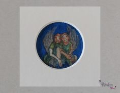 zwilling: kunstdruck von theodora auf DaWanda.com