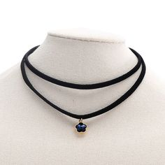 Find More Choker Necklaces Information about Black Multilayer Leather Choker Necklace Flower Crystal Stone Pendant Retro Gothic Style Jewelry for Women & Teen Girls,High Quality jewelry style,China jewelry for women Suppliers, Cheap leather choker from Winslet&Jean on Aliexpress.com