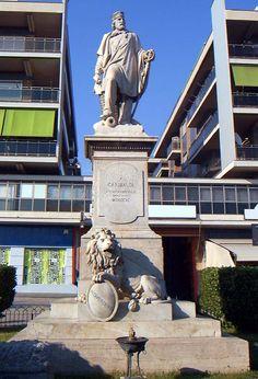 Giuseppe Garibaldi. Lácio, Itália.