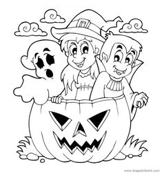 Find Coloring Book Halloween Character 5 stock images in HD and millions of other royalty-free stock photos, illustrations and vectors in the Shutterstock collection. Halloween Wood Crafts, Halloween Make, Halloween Patterns, Holidays Halloween, Halloween Coloring Pages, Cartoon Coloring Pages, Coloring Books, Cartoon Books, Cartoon Images