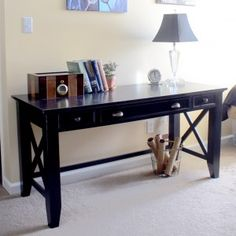 47 Adorable Plywood Desk Design Ideas For Home Office Woodworking Desk Plans, Woodworking Furniture, Woodworking Projects, Youtube Woodworking, Woodworking Tools, Woodworking Workshop, Diy Furniture Plans, Farmhouse Furniture, Building Furniture