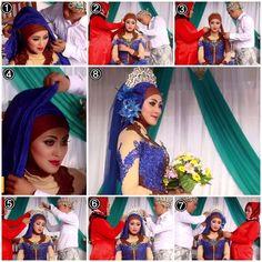 Tutorial Hijab Kebaya Pengantin Muslim Modern #4/ Kebaya Wedding Hijab Tutorial part 4 Kebaya Wedding, Wedding Hijab, Hijab Tutorial, Muslim, Aurora Sleeping Beauty, Bikini, Simple, Modern, Collections