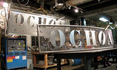 steel sign - Google Search
