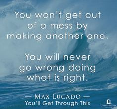 Excerpted from You'll Get Through This by Max Lucado. Click through for more info and to read the first chapter.