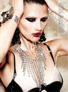 """All That Glitters"" Tara Gill for Flare Magazine"