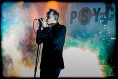 Jim Reid. The Jesus And Mary Chain. Cosmosis Festival 2016.  Mel Butler.